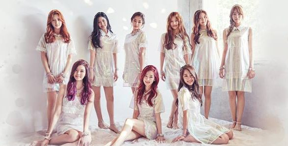 "Gugudan's ""Wonderland"" promotional picture."