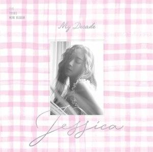 """Album art for Jessica's album """"My Decade"""""""