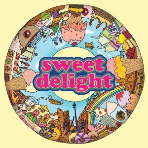 """Album art for Jessica's album """"Sweet Delight"""""""
