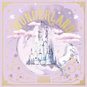 """Album art for Jessica's album """"Wonderland"""""""