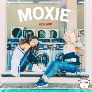 "Album art for MOXIE's album ""Ketchup"""