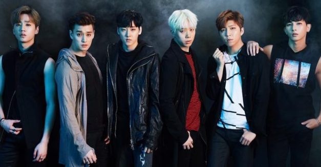 "U-Kiss' ""Stalker"" promotional picture."