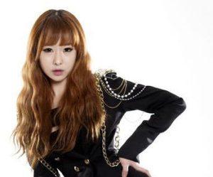 Black Queen's former member Jiyoung.
