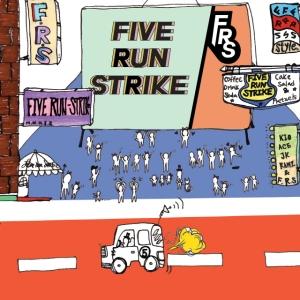 "Album art for Five Run Strikes album ""Can You Hear Me?"""