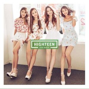 """Album art for Highteen's album """"Teen Magic"""""""