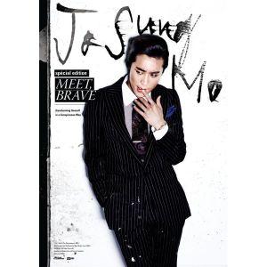 """Album art for Jo Sung Mo's album """"Meet Brave"""""""