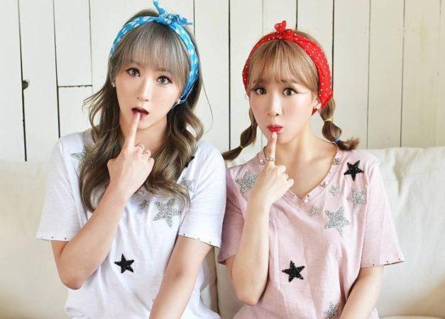 JYoung duet kpop group.