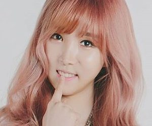 "Lucky Girl's Sandy ""Only You"" promotional picture."