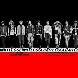 "Album art for NCT 127's album ""Limitless"""