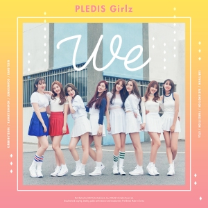 "Album art for Pledis Girlz's album ""We"""