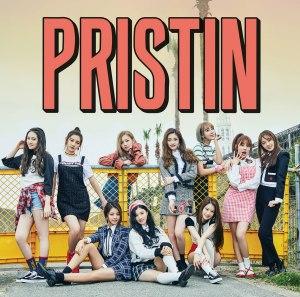 """Album art for Pristin's album """"Hi! Pristin"""""""
