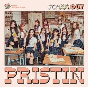 "Album art for Pristin's album ""Schxxl Out"""