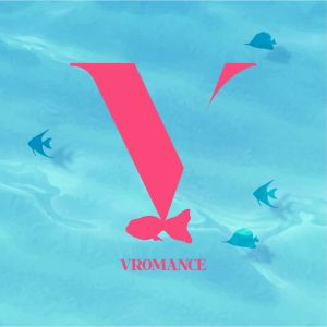"Album art for VROMANCE's album ""On The Hook"""