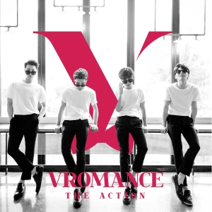 "Album art for Vromance's album ""The Action"""