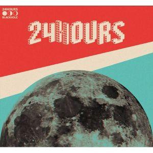 """Album art for 24Hours in the """"Blackhole"""" MV"""