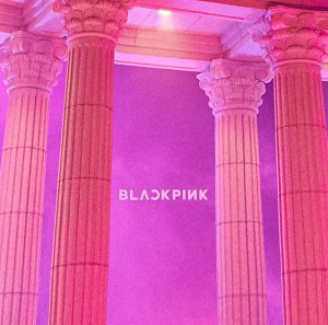 "Album art for BLACKPINK's album ""As If It's Your Last"""