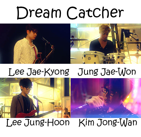 "The members of Nell in the ""Dream Catcher"""