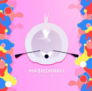 "Album art for Hash Swan's album ""MA$HIMARO"""