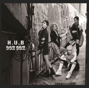 "Album art for H.U.B's album ""Ooh Ooh"""