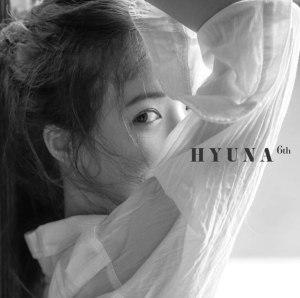 """Album art for Hyuna's album """"Following"""""""