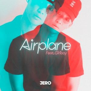 """Album art for Jero's album """"Airplane"""""""