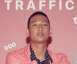 "Jero's promotional picture for ""Traffic Light"""
