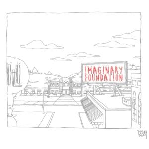 "Album art for Reddy's album ""Imaginary Foundation"""