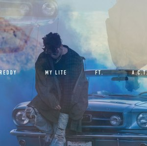 "Album art for Reddy's album ""My Lite"""