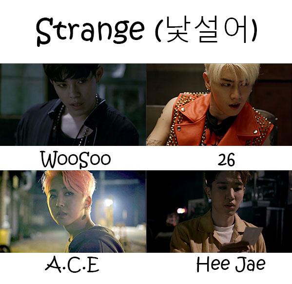 """The members of MASC in the """"Strange"""" MV"""