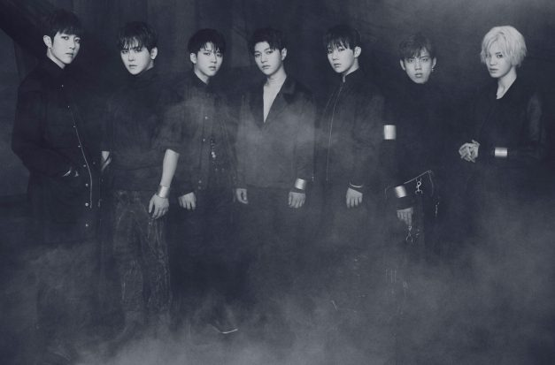 "Infinite's ""Infinite Only"" promotional picture."