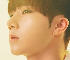 "Infinite's Sunggyu ""Infinite Only"" promotional picture."