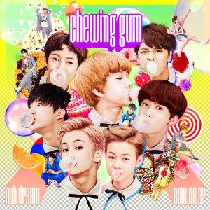 """Album art for NCT Dream's album """"Chewing Gum"""""""