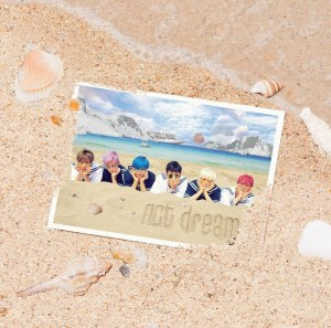 "Album art for NCT Dream's album ""We Young"""