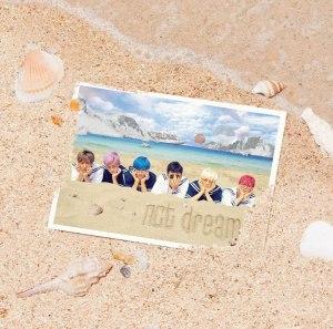 "Album art for NCT Dream's album ""We Young"""