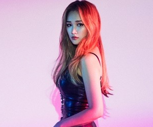 "Spica's Narae ""Secret Time"" promotional picture."