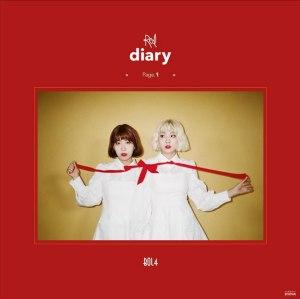 "Album art for BolBbalgan4's album ""Red Diary Page 1"""