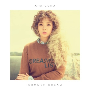 "Album art for Kim Ju Na's album ""Summer Dream"""