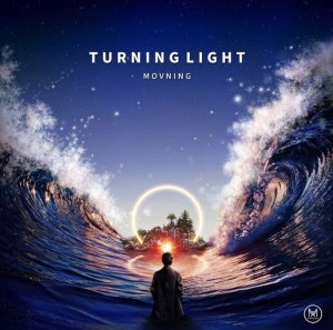 "Album art for Movning's album ""Turning Light"""