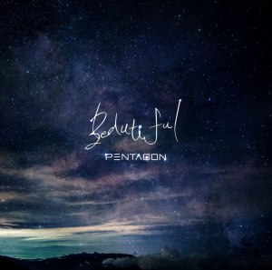 "Album art for Pentagon's album ""Beautiful"""