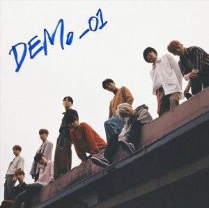 """Album art for Pentagon's album """"Demo-01"""""""