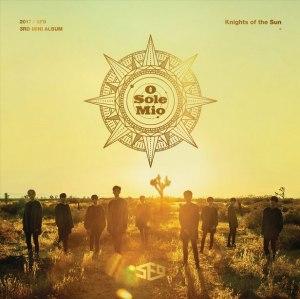 "Album art for SF9's album ""Knights Of The Sun"""