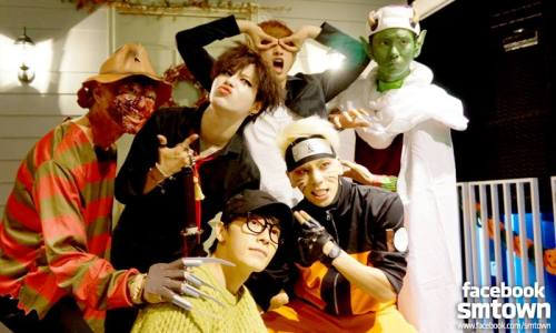 SHINee at the 2015 SM Halloween Party