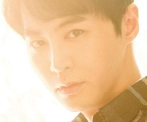"Shinhwa's Jun Jin ""She Said"" promotional picture."