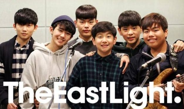 "The Eastlight's ""Holla"" promotional picture."
