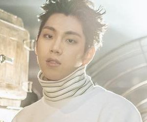 "KNK's Yoo Jin ""Remain"" promotional picture."