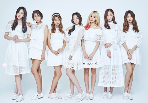"Momoland's ""Welcome to Momoland"" promotional picture."