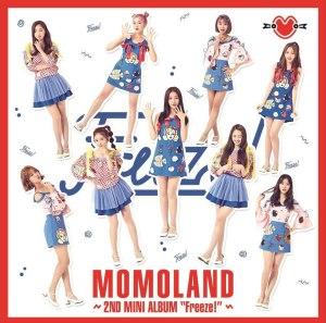 """Album art for MOMOLAND's album """"Freeze"""""""