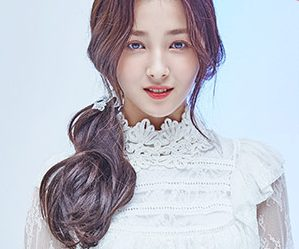 "Momoland's Nancy ""Welcome to Momoland"" promotional picture."