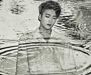 "Snuper's Sebin ""Rain of Mind"" promotional picture."