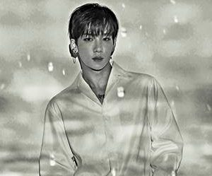 """Snuper's Suhyun """"Rain of Mind"""" promotional picture."""